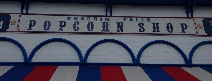 Chagrin Falls Popcorn Shop is one of สถานที่ที่ PJ ถูกใจ.