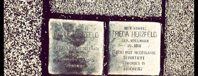 2 Stolpersteine Herzfeld is one of Stolpersteine 1933 - 1945.