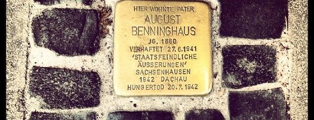 Stolperstein August Benninghaus is one of Stolpersteine 1933 - 1945.