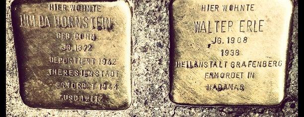 2 Stolpersteine Hornstein und Erle is one of Stolpersteine 1933 - 1945.