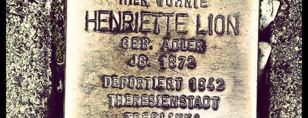 Stolperstein Henriette Lion is one of Stolpersteine 1933 - 1945.