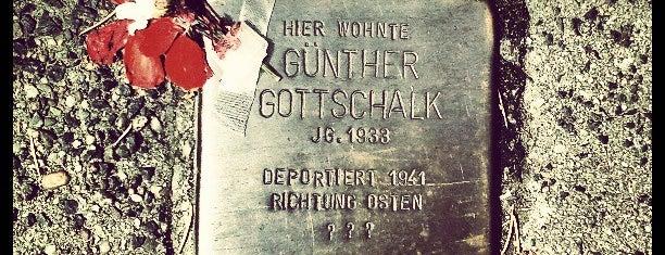 Stolperstein Günther Gottschalk is one of Stolpersteine 1933 - 1945.