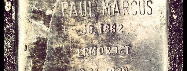 Stolperstein Paul Marcus is one of Stolpersteine 1933 - 1945.