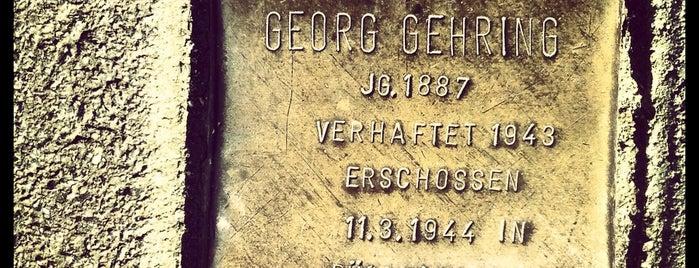 Stolperstein Georg Gehring is one of Stolpersteine 1933 - 1945.