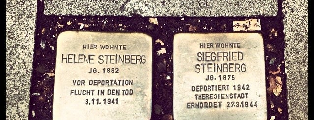 2 Stolpersteine Steinberg is one of Stolpersteine 1933 - 1945.