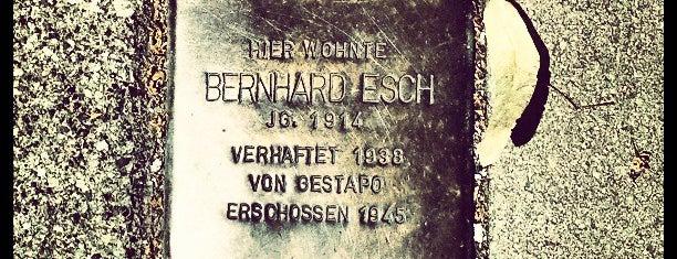 Stolperstein Bernhard Esch is one of Stolpersteine 1933 - 1945.