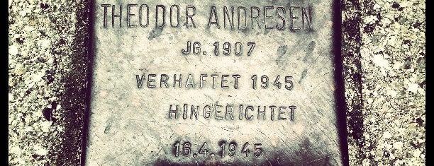 Stolperstein Theodor Andresen is one of Stolpersteine 1933 - 1945.