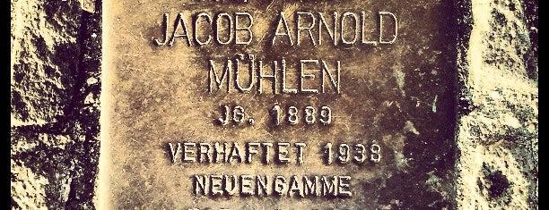 Stolperstein Jacob Arnold Mühlen is one of Stolpersteine 1933 - 1945.
