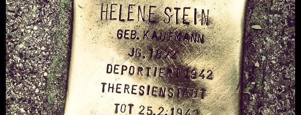 Stolperstein Helene Stein is one of Stolpersteine 1933 - 1945.