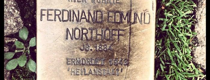 Stolperstein Northoff is one of Stolpersteine 1933 - 1945.