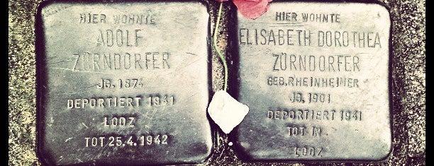 2 Stolpersteine Zürndorfer is one of Stolpersteine 1933 - 1945.