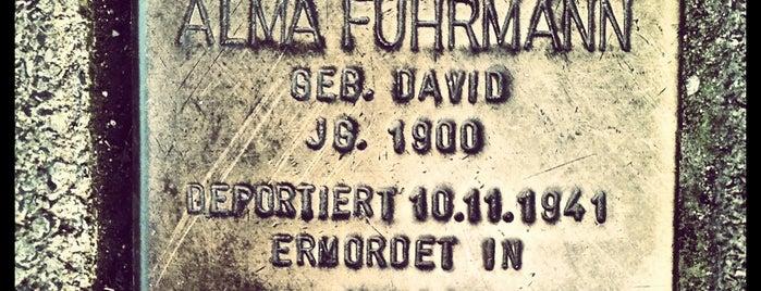 Stolperstein Alma Fuhrmann is one of Stolpersteine 1933 - 1945.