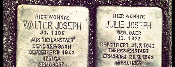 2 Stolpersteine Joseph is one of Stolpersteine 1933 - 1945.