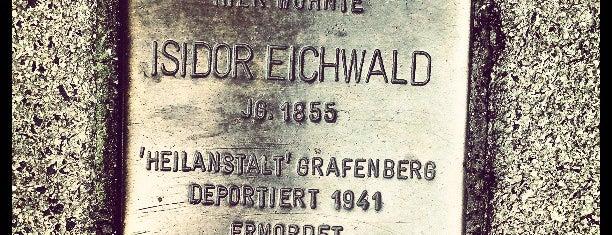 Stolperstein Isidor Eichwald is one of Stolpersteine 1933 - 1945.