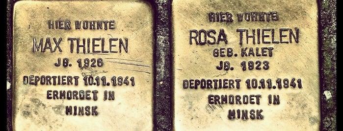 2 Stolpersteine Thielen is one of Stolpersteine 1933 - 1945.