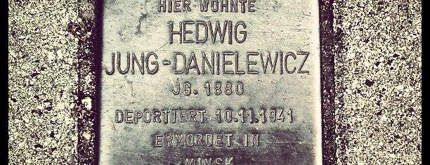 Stolperstein Hedwig Jung-Danielewicz is one of Stolpersteine 1933 - 1945.