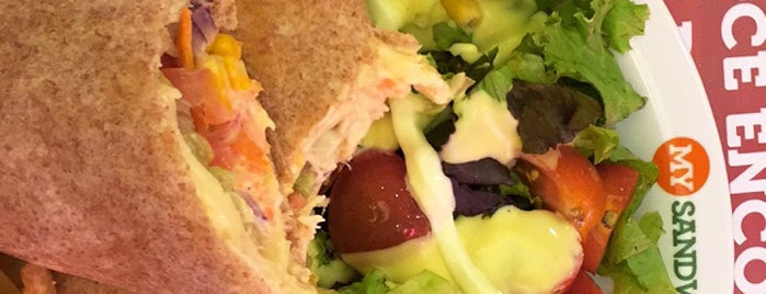 My Sandwich is one of Orte, die Adriana gefallen.