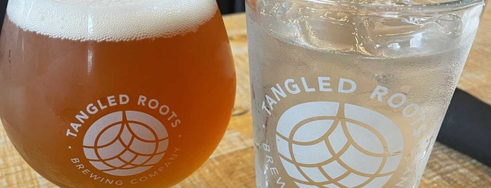 Tangled Roots Brewing Company is one of Places I Need To Visit Or Go Back To.
