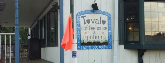 Tuvalu Coffeehouse and Gallery is one of Lieux qui ont plu à Brent.