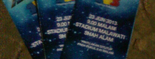 Stadium Malawati is one of 'Stadium Talk'....