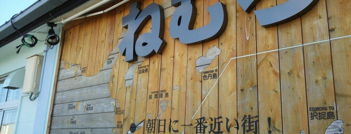Nemuro Station is one of JR 홋카이도역 (JR 北海道地方の駅).