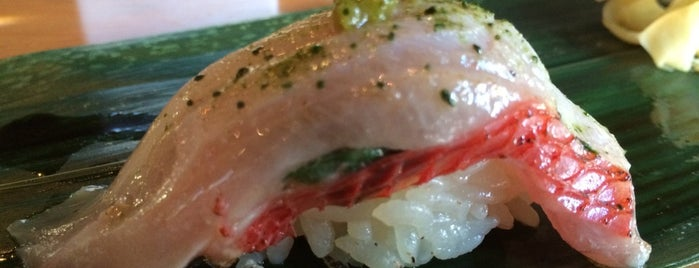 ICHI Sushi + NI Bar is one of SF Chronicle Top 100 Restaurants 2014.