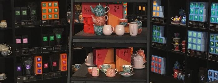 T2 Tea is one of Orte, die Amanda gefallen.