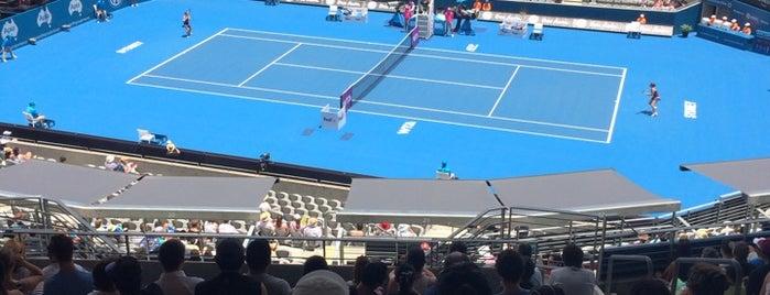 Sydney Olympic Park Tennis Centre is one of Lieux qui ont plu à Susana Sarlenga.