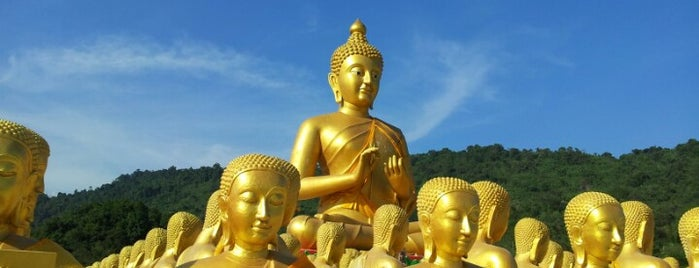 พุทธอุทยานมาฆบูชาอนุสรณ์ is one of รีสอร์ทนครนายก.