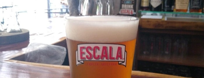 Cervecería Escala is one of Locais salvos de Mauricio.