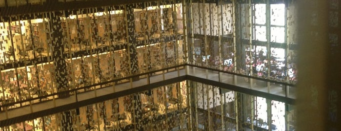 NYU Elmer Holmes Bobst Library is one of A Virtual Map of NYU Student Life.