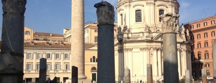 Columna de Trajano is one of Supova in Roma.