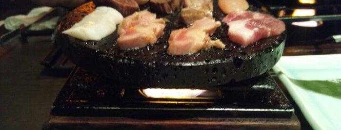 石の庵 おかゆと溶岩焼 is one of 行って食べてみたいんですが、何か?.