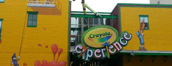 Crayola Experience is one of Museums.