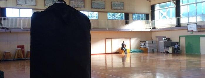 茅ヶ崎市立 西浜小学校 is one of 神輿で訪れた場所-1.