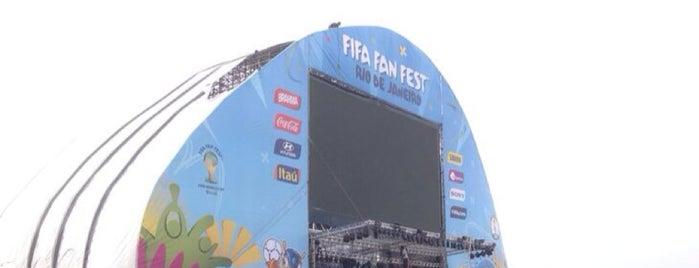 FIFA Fan Fest is one of Aqui na terra tão jogando futebol.
