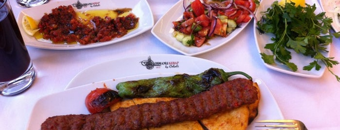 Osmanli Kebab by Celali is one of Hakan : понравившиеся места.