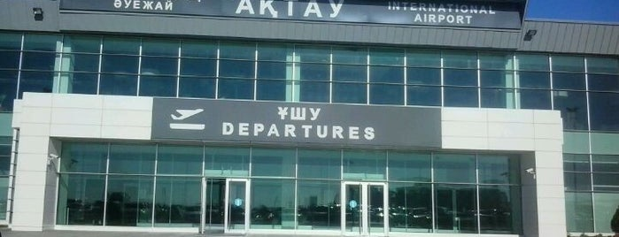 Aktau International Airport (SCO) is one of Airports 2.0.