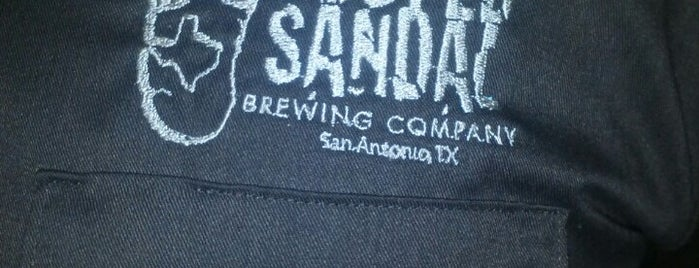 Busted Sandal Brewery is one of Texas.