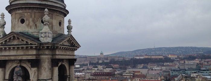 Szent István Bazilika tetőtéri kilátó is one of Lieux sauvegardés par Thomas.