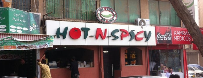 Hot n Spicy is one of Karachi.