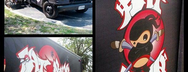 Fat Ninja Food Truck is one of Zane 님이 좋아한 장소.