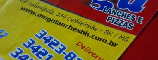 Mega Lanches is one of Locais curtidos por Vania.