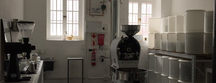 Espresso Lab Microroasters is one of South Africa.