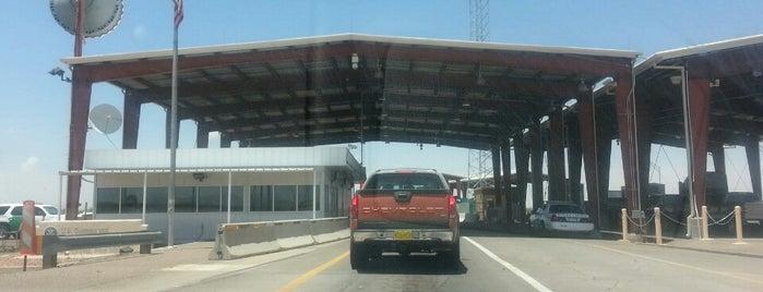 Hwy 185 Border Patrol Checkpoint is one of Lugares guardados de Todd.