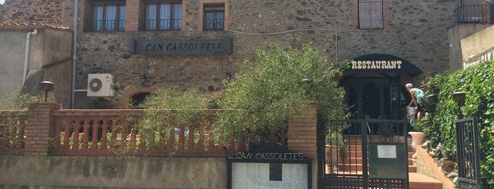 Can Cassoletes is one of Restaurants de Catalunya.