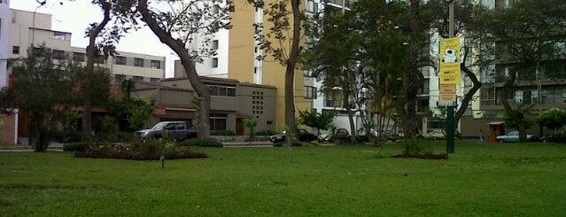 Parque Pedro La Rosa is one of Gespeicherte Orte von Raul E..