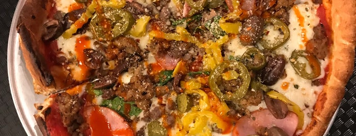 Pie Five Pizza Co. is one of Omaha pizzas - gf options.