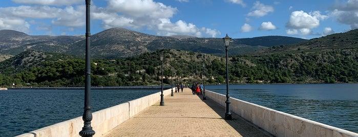 Argostoli Bridge is one of Canset : понравившиеся места.