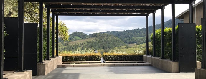 Promontory Estate Winery is one of Napa.